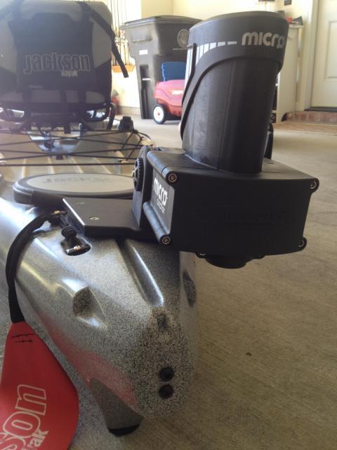 Mounting a Power-Pole Micro on the Jackson Cuda 14
